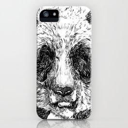 The Illustrated Panda iPhone Case