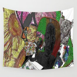 Whacky Bags pattern Wall Tapestry