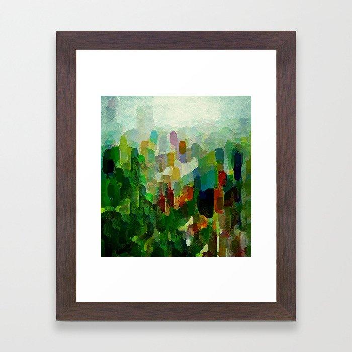 City Park Framed Art Print