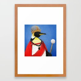 Penguin Emperor Framed Art Print