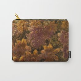 'Summer Garden, Dahlias' still life painting by Gaetano Previati Carry-All Pouch
