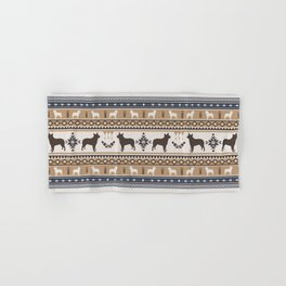 Boho dogs | Australian cattle dog tan Hand & Bath Towel