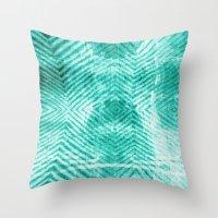 tye dye Throw Pillows featuring Tie Dye  by Jenna Davis Designs