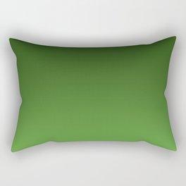 Green Ombré Gradient Rectangular Pillow