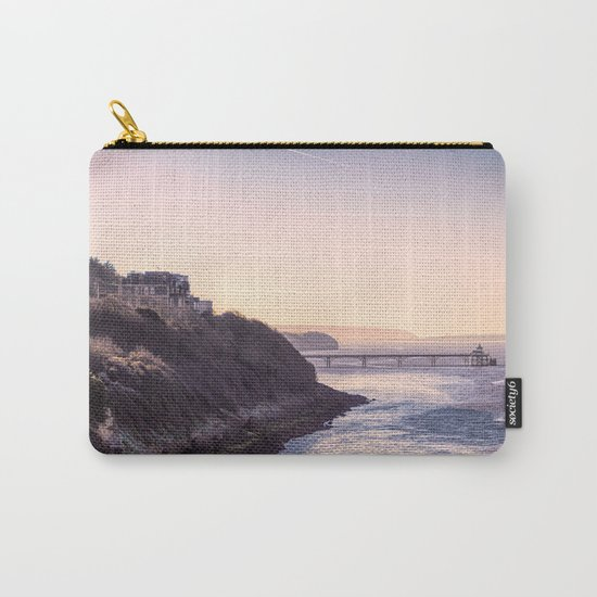 Clevedon Sea front Carry-All Pouch