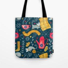 Pattern #71 - Hygge - Cosy winter Tote Bag