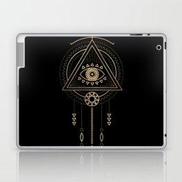 Mandala Tribal Eye Copper Bronze Gold Laptop & iPad Skin