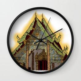 Temple of Chiang Mai Wall Clock