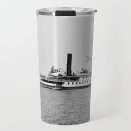 Ticonderoga Steamer on Lake Champlain Travel Mug