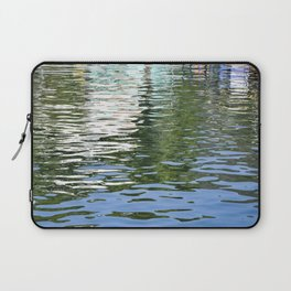 Colorful Reflections Abstract Laptop Sleeve
