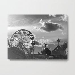 Nelly Blie amusement park, Brooklyn NY Metal Print