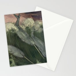Vintage Narwhal Painting (1909) Stationery Cards