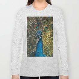 Paon coloré Long Sleeve T-shirt
