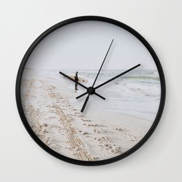 Lets Surf VII Wall Clock