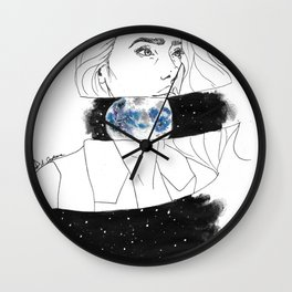 Starseed series : TREE Wall Clock