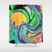 hippie Shower Curtains featuring Hippie Dayz by NPDesigns