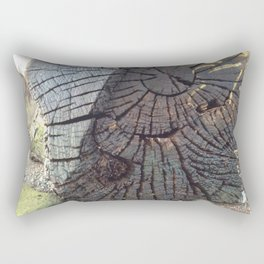 Rings of a tree Rectangular Pillow