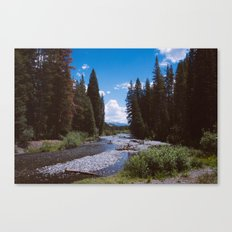 Hope is a River Canvas Print