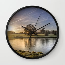 Leeds Castle Upper Lake Wall Clock