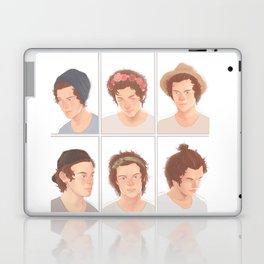 Harry Hair Styles Laptop & iPad Skin