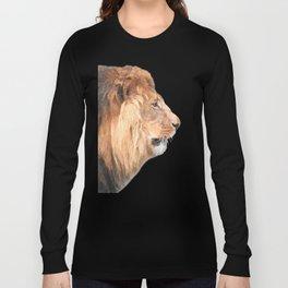 Lion Profile Long Sleeve T-shirt