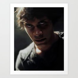 Bellamy, The 100 Art Print