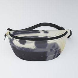 Black and White Coco Fanny Pack
