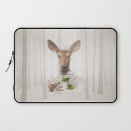 Would you like a cup of tea, my deer ?  Laptop Sleeve