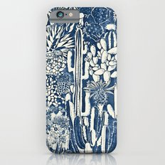 Indigo cacti iPhone 6s Slim Case