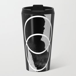 Capture A Fleeting Thought - Abstract Conceptual Black And White Travel Mug