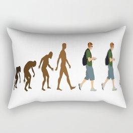 The-Evolution-of-Geeks Rectangular Pillow