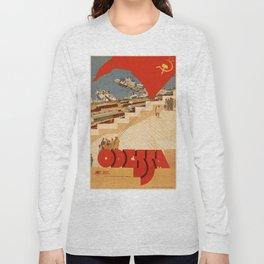 Vintage poster - Odessa Long Sleeve T-shirt