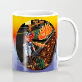 Lovecraft Cuties Set 01: Cynthiuh The Living Flame Coffee Mug