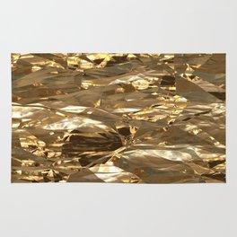 Gold Metal Rug