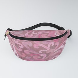 Pink on Pink - Paisley Fanny Pack
