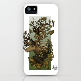 Caribou Tree iPhone Case