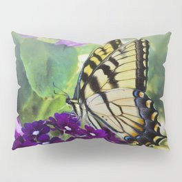 Yellow Swallowtail Pillow Sham