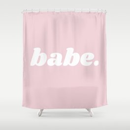 babe Shower Curtain
