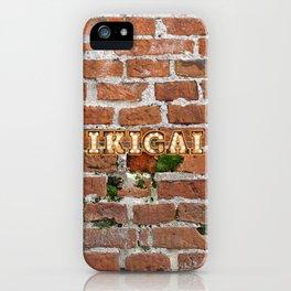 IKIGAI - Brick iPhone Case