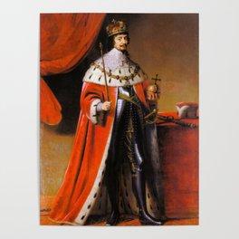 Gothic royal portrait Poster