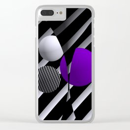 games with geometry -5- Clear iPhone Case