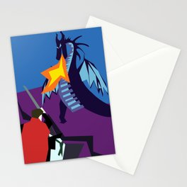 Fight The Dragon Stationery Cards