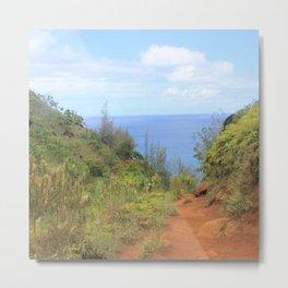 Kalalau Trail II Metal Print
