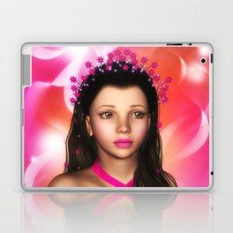 Jillian Star Elf-Magic Portrait Laptop & iPad Skin