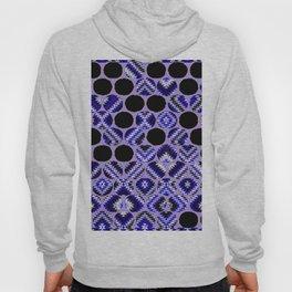 DECORATIVE  PURPLE & BLACK ABSTRACT ART Hoody