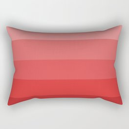 Starting in Red - Color Therapy Rectangular Pillow