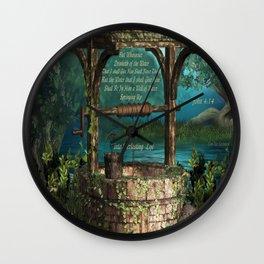 Everlasting Life Wall Clock
