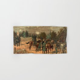 Civil War Battle of Chattanooga by Thulstrup Hand & Bath Towel