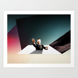 Out of Touch Art Print