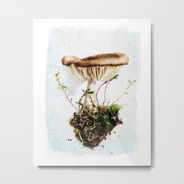 Wild Mushroom #1 Metal Print